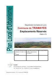Liste des emplacements réservés - Tramayes