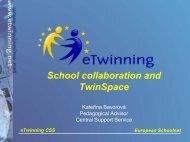 EUROPEAN SCHOOLNET - eTwinning