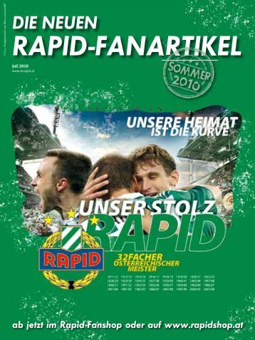RAPID-FANARTIKEL - SK Rapid Wien