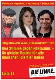 Liste 11 - Die Linke NRW