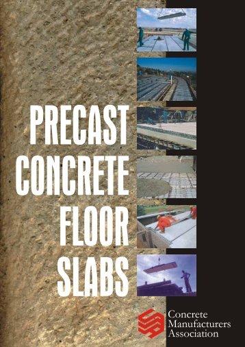 concrete manufacturers association - Construction Industry ...