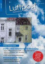 COPD - eine variantenreiche Erkrankung - Patientenliga ...