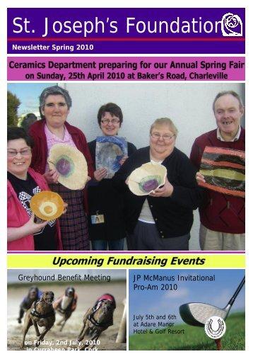 Newsletter Spring 2010 - St Joseph's Foundation