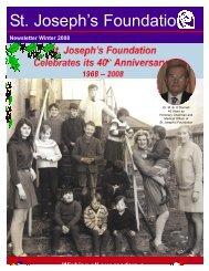 1Winter Newsletter 08:Spring Newsletter 2008.qxd - St Joseph's ...