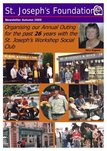 Newsletter Autumn 2009 - St Joseph's Foundation