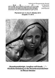 Pfarrbrief Nr. 2013-17 - Kath-Rastatt