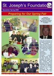 Spring Newsletter 2008:Spring Newsletter 2008.qxd - St Joseph's ...