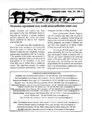 Cordovan SUMMER 2008 - Cordova Bay Association for Community ...