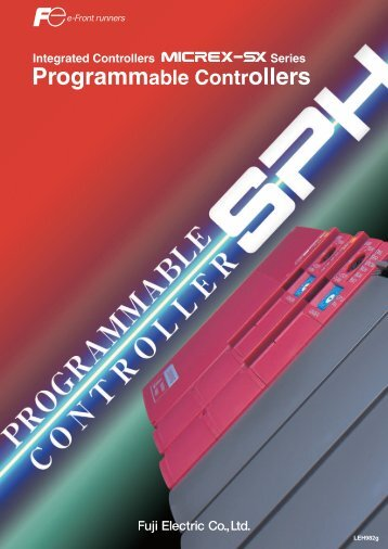 The SPH catalog (LEH982g) for the Fuji Programmable - Fuji Electric