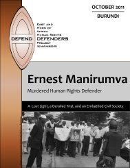 English (PDF) - East and Horn of Africa Human Rights Defenders ...