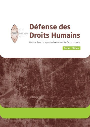 Defense des Droits Humains - East and Horn of Africa Human ...