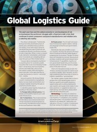 2009 Global Logistics Guide - Inbound Logistics