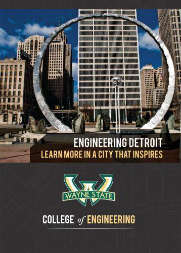 Engineering DETROIT - College of Engineering - Wayne State ...