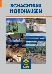 SBN Brochure - SCHACHTBAU NORDHAUSEN GmbH
