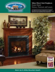 Warm Up To White Mountain Hearth Tahoe Direct-Vent Fireplaces ...