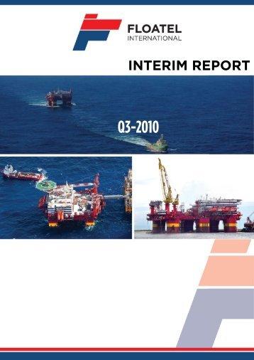 Q3 2010 - Floatel International