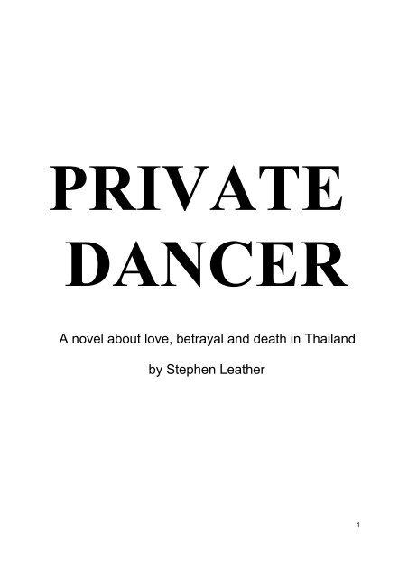 Private Dancer Pdf