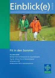 MIS_Einblick(e) - Misericordia GmbH Krankenhausträgergesellschaft