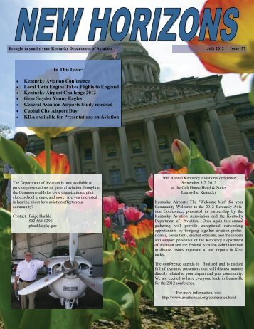 New Horizions-Summer 2012 - Kentucky Transportation Cabinet