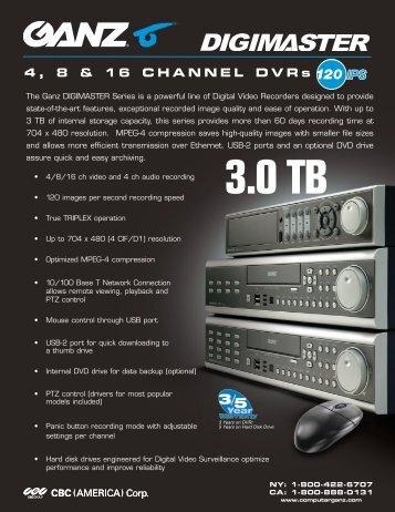 digiMaster DVR - Intella-Home Inc.