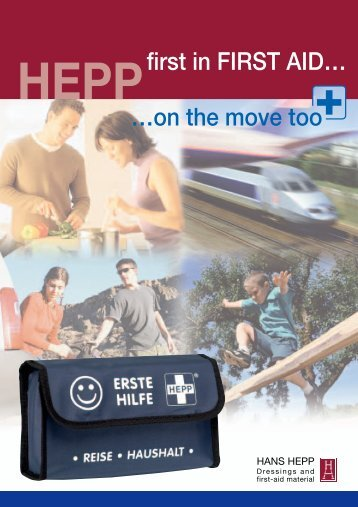 …on the move too first in FIRST AID… - Hans Hepp GmbH