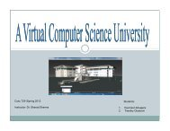 Presentation - Bowie State University Department of Computer ...