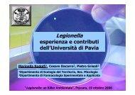 valutazione quantitativa di Legionella - ARTA Abruzzo