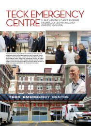TECK EMERGENCY CENTRE - St. Paul's Hospital Foundation