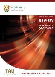 TAU Review VOL2 NO 1.pdf - National Treasury