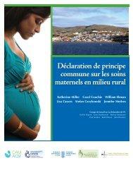 Déclaration de principe commune sur les soins maternels en milieu ...