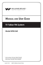 manual - Williams Sound