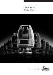 Leica TS30 White Paper - GEFOS