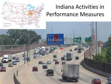 Indiana Activities in Performance Measures - Traffic Signal Systems ...