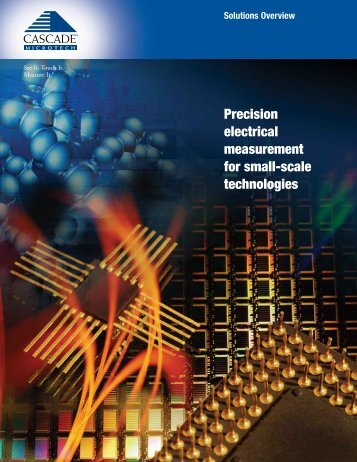 Precision electrical measurement for small-scale ... - H TEST a.s.