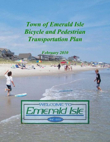 Town of Emerald Isle Bicycle and Pedestrian Transportation Plan