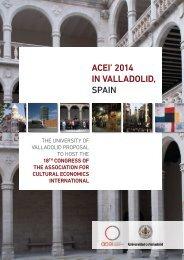 ACEI' 2014 IN VALLADOLID, SPAIN - GIEC UVA