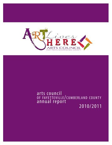 arts council annual report 2010/2011 - The Arts Council