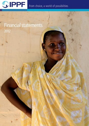 Financial statements - International Planned Parenthood Federation