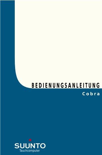 BEDIENUNGSANLEITUNG - Dive Company