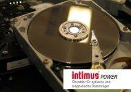 Shredder für optische und magnetische Datenträger - Intimus