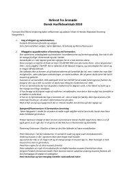 Referat fra årsmøde Dansk Husflidsselskab 2010