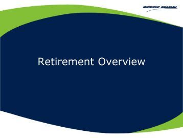 Retirement Overview for TRW Heritage Employees - Benefits Online