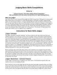 Judging Basic Skills Competitions - US Figure Skating