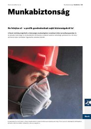 Munkabiztonság - Bosch
