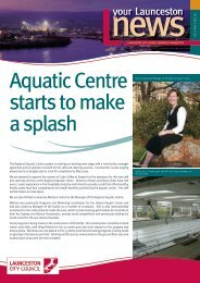 Aquatic Centre starts to make a splash - Launceston City Council