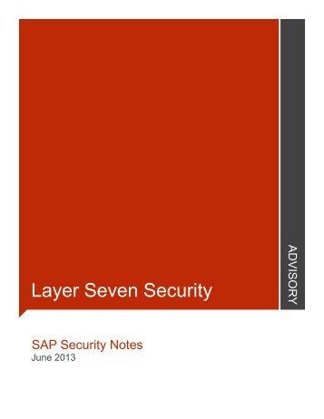 Jun - Layer Seven Security