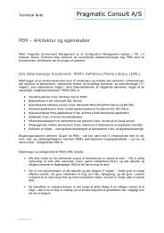 PEMs arkitektur og egenskaber - Pragmatic Consult