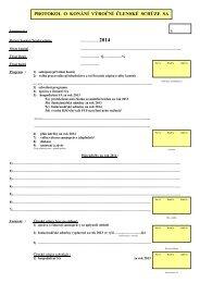 protokol vsv SV -2013