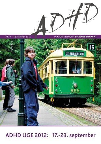 ADHD UGE 2012: 17.-23. september - ADHD: Foreningen