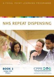 NHS REPEAT DISPENSING - CPPE